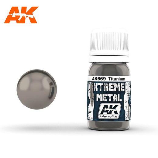 Xtreme Metal Titanium Titane  - Ak Interactive AK669