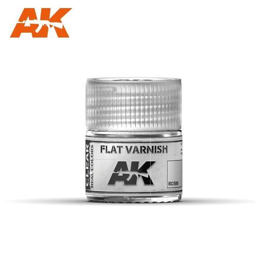 Flat Varnish 10ml - Ak Interactive RC500