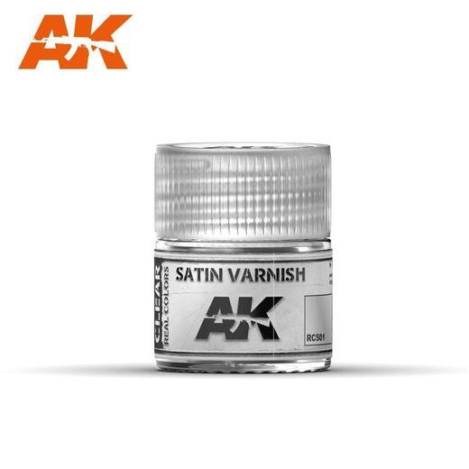 Satin Varnish 10ml - Ak Interactive RC501