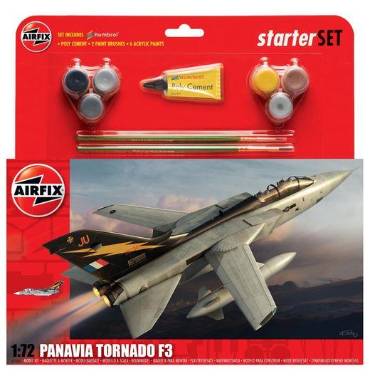 Maquette avion : Coffret cadeau Panavia Tornado F3 - 1:72 - Airfix 055301 55301 - france-maquette.fr