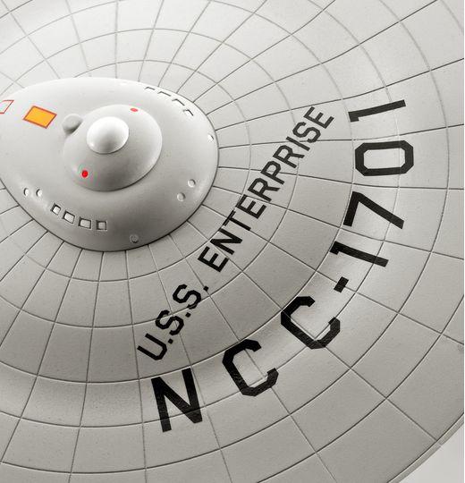 Maquette Star Trek : U.S.S. Enterprise Ncc-1701 (Tos) - 1:600 - Revell 4991, 04991