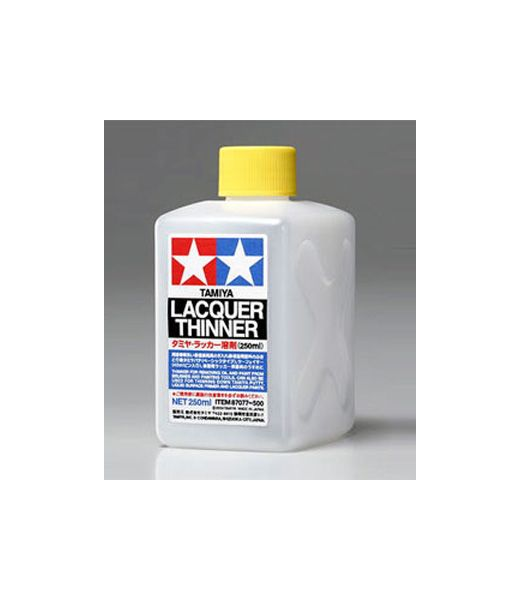Accessoire de modélisme : Diluant cellulosique XL 250ml – Tamiya 87077