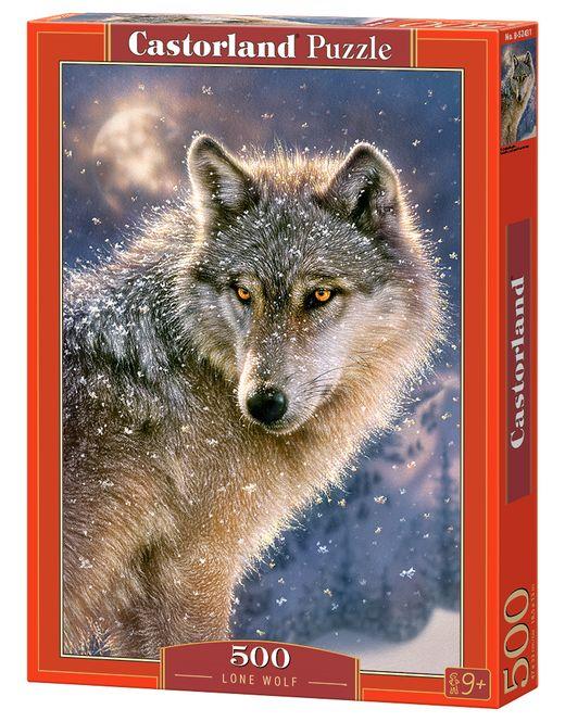 Puzzle Loup solitaire - 500 pièces - Castorland 52431