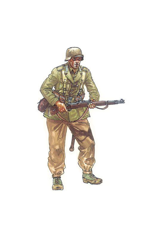 Figurines militaires : Motos allemandes - 1/72 - Italeri 06121