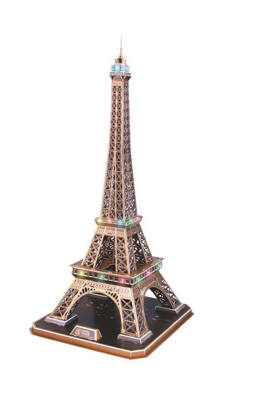 Maquette Puzzle 3D : Tour Eiffel - LED Edition - Revell 00150, 150 - france-maquette.fr