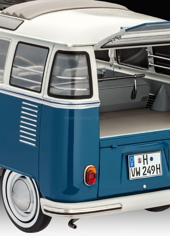 Maquette de bus : Volkswagen Typ 2 T1 Samba Bus - Revell ...
