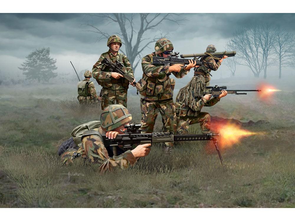 figurines de soldats infanterie britannique moderne 1 72 revell 02519. Black Bedroom Furniture Sets. Home Design Ideas