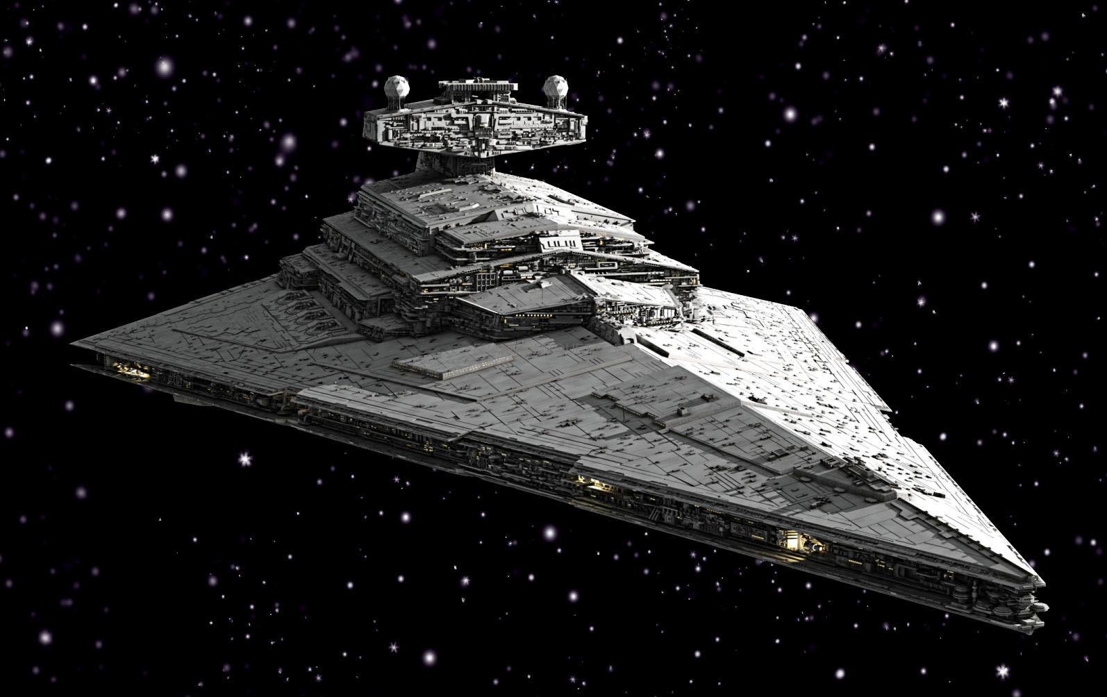 Maquette star wars destroyer stellaire revell 03609 - Vaisseau de dark vador ...
