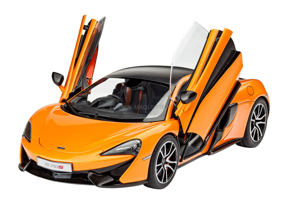 maquette de voiture mclaren 570s 1 24 revell 07051. Black Bedroom Furniture Sets. Home Design Ideas