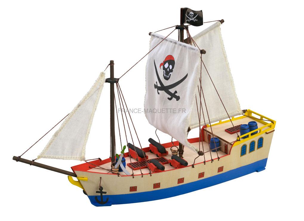 maquette en bois voilier bateau pirate artesania latina 30509. Black Bedroom Furniture Sets. Home Design Ideas