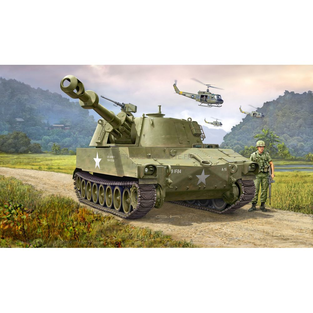 maquette char d 39 assaut m109 us army 1 72 revell 03265. Black Bedroom Furniture Sets. Home Design Ideas