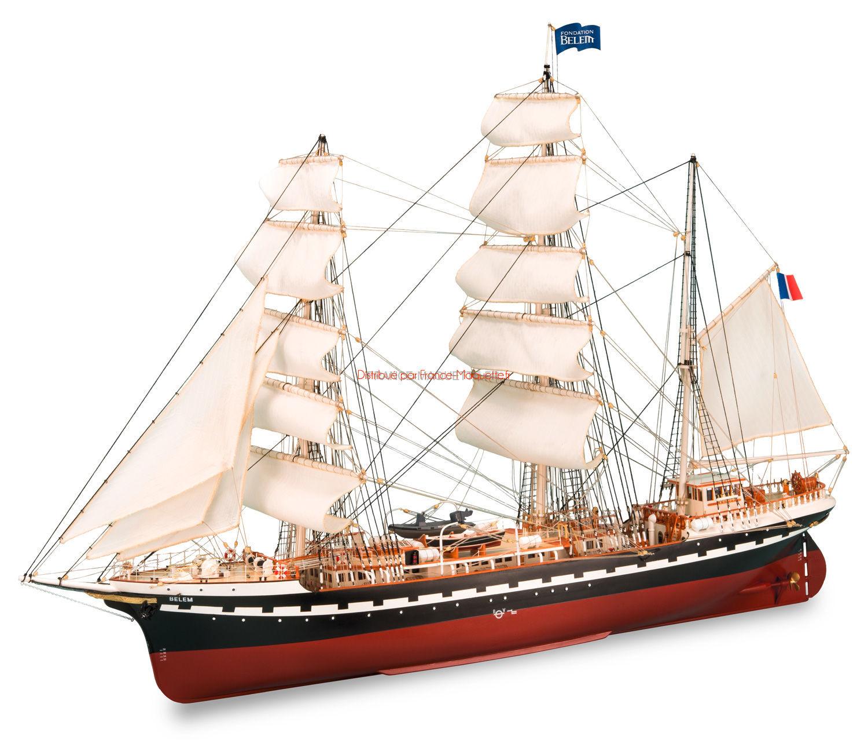 Maquette de voilier belem 1 75 artesania latina 22519 for Construire le belem