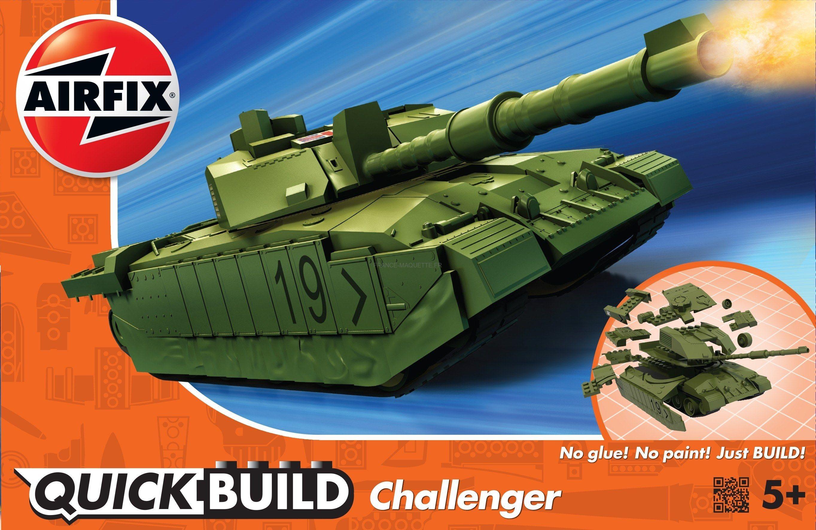 Airfix J6022 Challenger Quick Tank Build SMGqzpUV