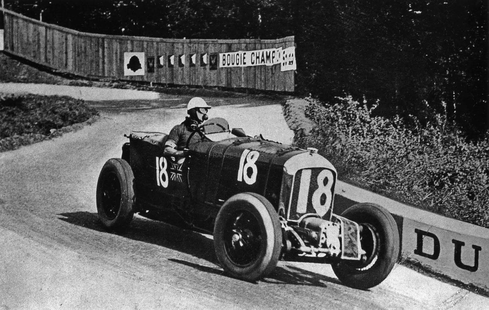 L Bentley Blower Sir Henry Birkin French Grand Prix