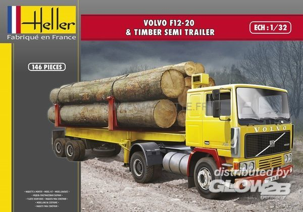 20 Timber Heller Semi Trailer G F12 81704 t Volvo 1amp; YHe29WEDI
