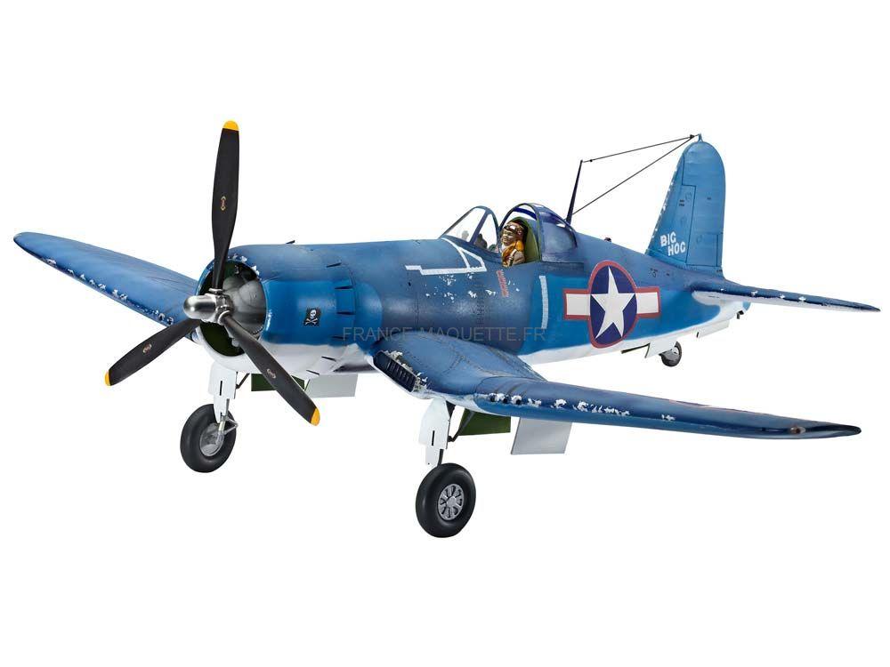 maquette avion militaire vought f4u 1a corsair 1 32 revell 04781. Black Bedroom Furniture Sets. Home Design Ideas