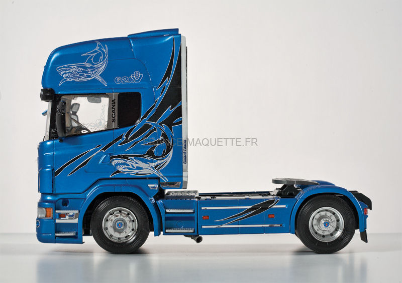 maquette camion scania r620 blue shark 1 24 italeri 3873. Black Bedroom Furniture Sets. Home Design Ideas