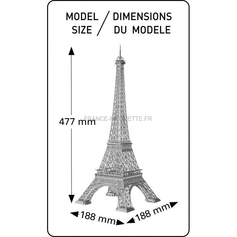Heller 81201 tour eiffel - Les dimensions de la tour eiffel ...