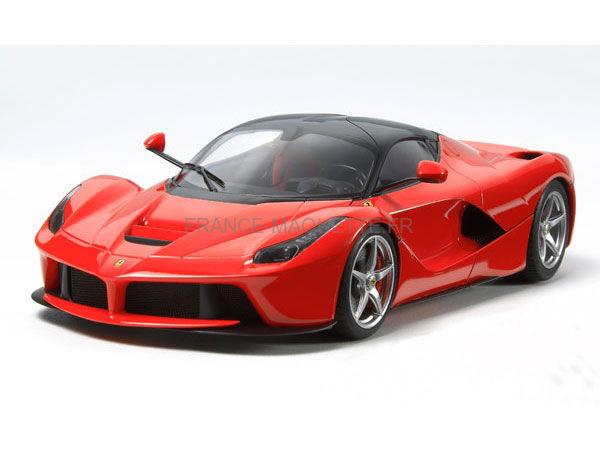 maquette de voiture de sport laferrari 1 24 tamiya 24333. Black Bedroom Furniture Sets. Home Design Ideas