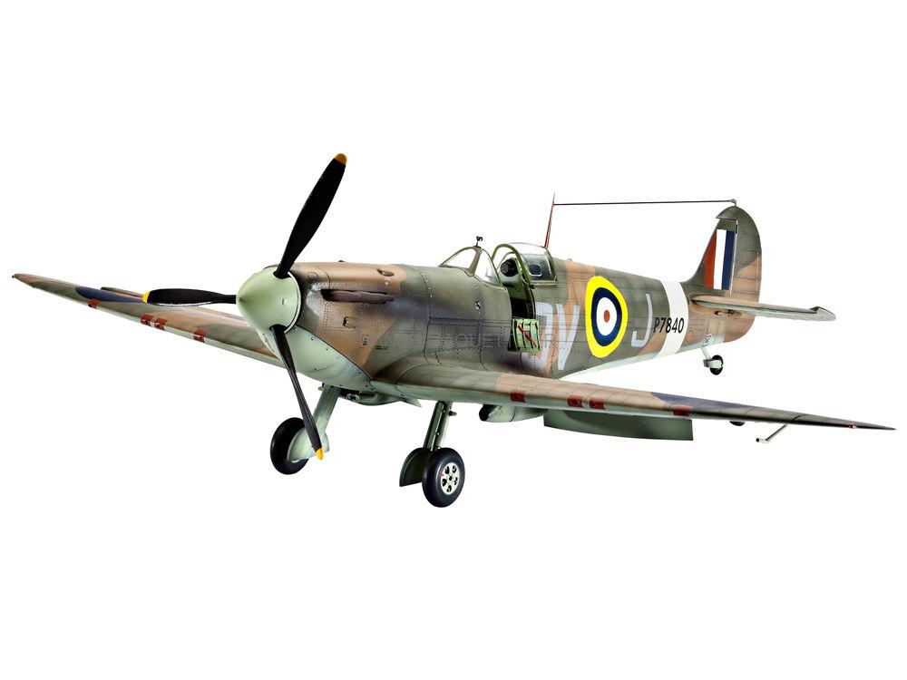 Maquette Avion Militaire Spitfire Mk I/II
