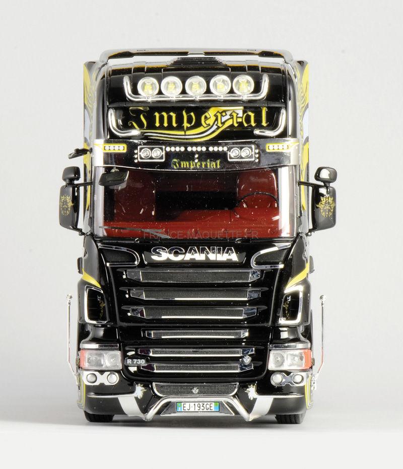 maquette camion scania r730 v8 topline imperial 1 24 italeri 03883. Black Bedroom Furniture Sets. Home Design Ideas