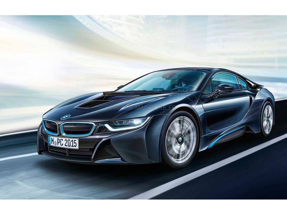 maquette de voiture bmw i8 1 24 revell 07008. Black Bedroom Furniture Sets. Home Design Ideas