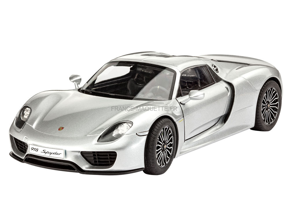 maquette de voiture porsche 918 spyder 1 24 revell 07026. Black Bedroom Furniture Sets. Home Design Ideas