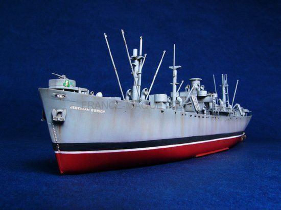 maquette trumpeter 5301 liberty ship s s navire de guerre us mod le jeremiah o 39 brien. Black Bedroom Furniture Sets. Home Design Ideas