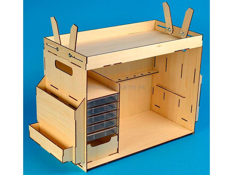 accessoires mod lismes atelier portatif artesania latina 27648. Black Bedroom Furniture Sets. Home Design Ideas