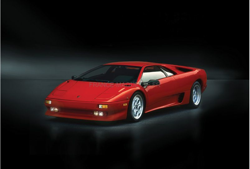 maquette voiture lamborghini diablo 1 24 italeri 03685. Black Bedroom Furniture Sets. Home Design Ideas